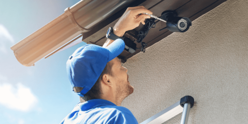How to Hide Security Camera Wires Outside (6 Ways)