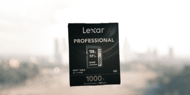 lexar sdxc memory card